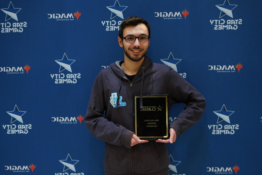 Congratulations to Star City Games Modern Classic Champion Lucas Molho, DS '14